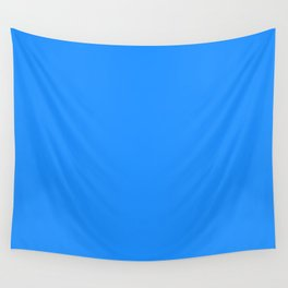 Dodger Blue Wall Tapestry