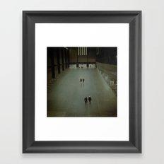 London Pairs. Framed Art Print