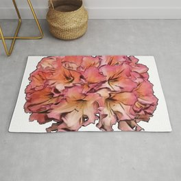 Rhododendrons woody Ericaceae deciduous lowland montane forests Appalachian Rug