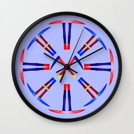 Kama Sickle Design Wall Clock