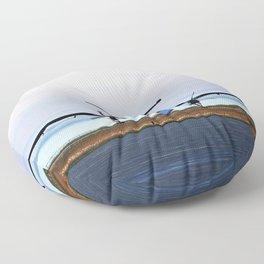 Plane Landing Floor Pillow