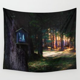 Magical Forest (Color) Wall Tapestry