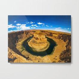 Best Photo of Horseshoe Bend in Page, Arizona Metal Print