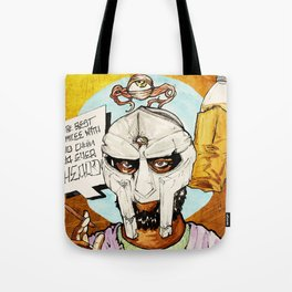 FIGARO: DOOM is my Religion Tote Bag