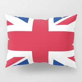 Union Jack Authentic color and scale 3:5 Version  Pillow Sham
