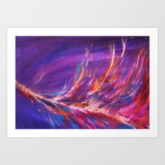 Ablaze Art Print