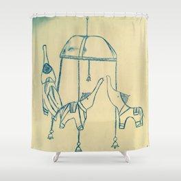 Le manege Shower Curtain