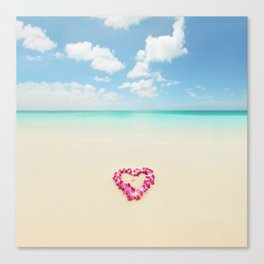 honeymoon Canvas Print