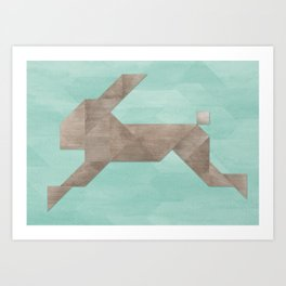 Harry Hare Art Print