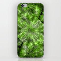 Fractal Imagination I - Emerald iPhone & iPod Skin