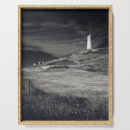 Reykjanesviti Lighthouse Serving Tray