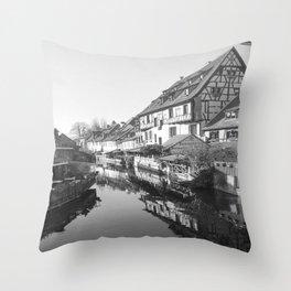 Fantasy of Alsace Throw Pillow