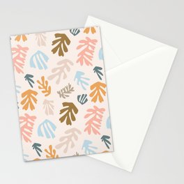 Seaweeds and sand Stationery Cards