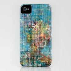 grid portrait iPhone (4, 4s) Slim Case