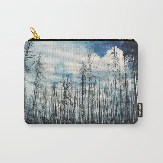 Grainy Trees Carry-All Pouch