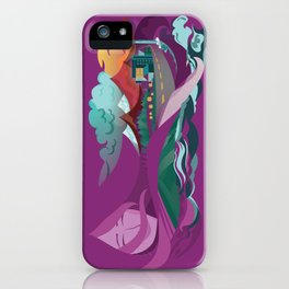 Lady of the Land iPhone Case