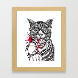 Cat - Maahy Framed Art Print