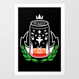 X-POTION Art Print