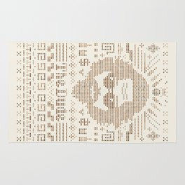 Knitted Dude Rug