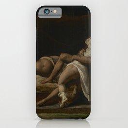 Theodore Gericault - Three Lovers iPhone Case