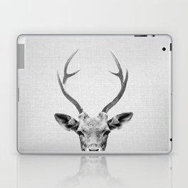 Deer - Black & White Laptop & iPad Skin