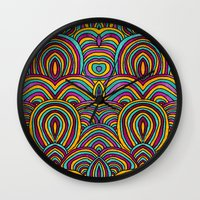 moroccan Wall Clocks featuring Moroccan Style by Pom Graphic Design