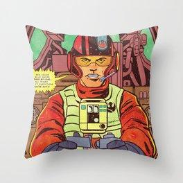 Resistence Squad E. VII Throw Pillow