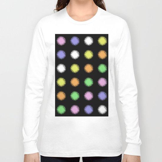 Rainbow Fuzz Long Sleeve T-shirt