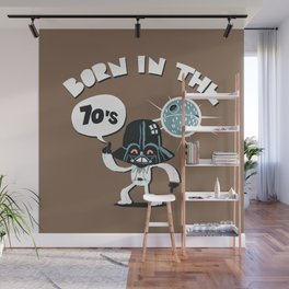Born in the 70's Wall Mural