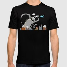 Big Monster MEDIUM Mens Fitted Tee Black