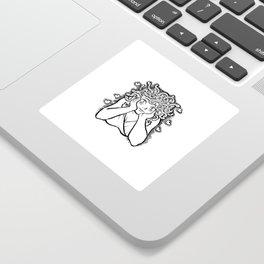Medusa's Gaze Sticker