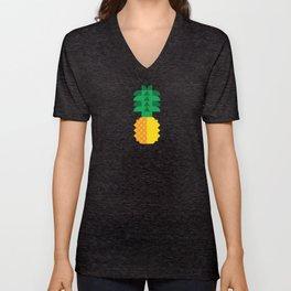 Fruit: Pineapple Unisex V-Neck