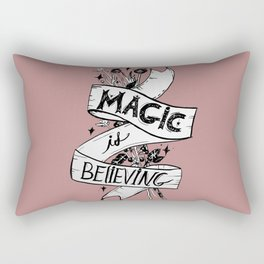 Magic Is Believing Rectangular Pillow