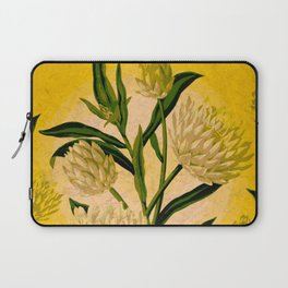 Yellow Floral Laptop Sleeve