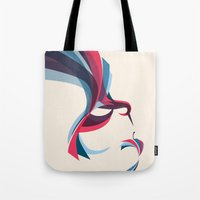 hummingbird Tote Bags featuring Hummingbird by Jay Fleck