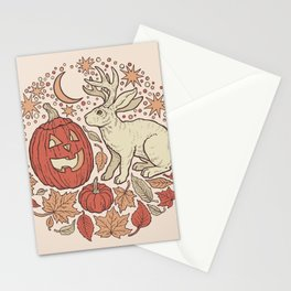 Halloween Friends | Autumn Palette Stationery Cards