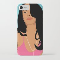 aaliyah iPhone & iPod Cases featuring Babygirl by 92 Aesthetics