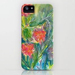Magical Flowers iPhone Case