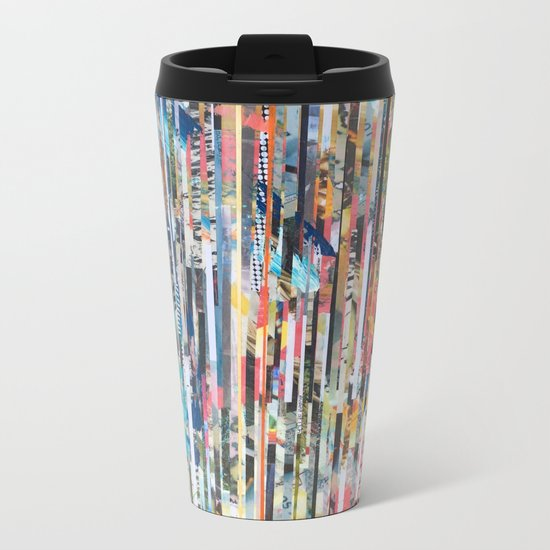 STRIPES 26 Metal Travel Mug