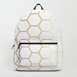 Honeycomb - Gold #170 Backpack