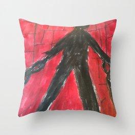The Monster (Prisoner) Throw Pillow