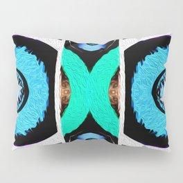 Surf Girl Abstract  Pillow Sham