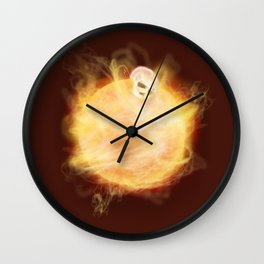 Lost in a Space / Sunlion Wall Clock