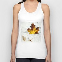 frozen Tank Tops featuring frozen by Bonnie Jakobsen-Martin