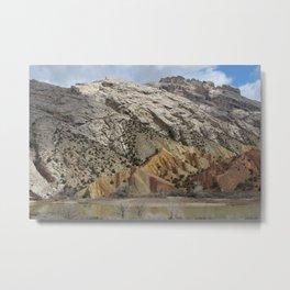 Split Mountain, Dinosaur National Monument Metal Print