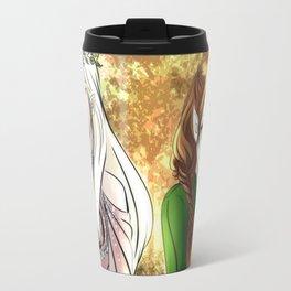 Tolkien Elves (Nyo!RussLiet) Travel Mug