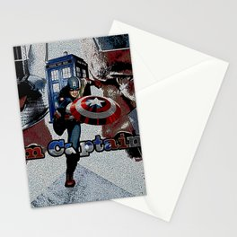 Tardis of Iron Captain Stationery Cards