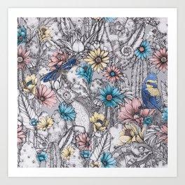 Matthew Williamson Wallpaper Cactus Garden Art Print
