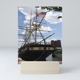 Old Glory - USS Constellation Mini Art Print
