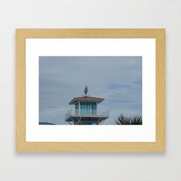 tower at myrtle beach Framed Art Print